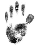 Hand print Stock Photos