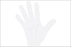 Hand print Royalty Free Stock Photo