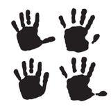 Hand Print icon Stock Photos