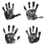 Hand Print icon Stock Images