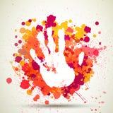 Hand Print Stock Photo