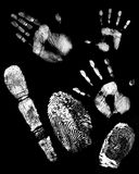 Hand print Royalty Free Stock Photography