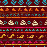 Tribal seamless pattern Royalty Free Stock Image
