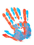 Hand prints Royalty Free Stock Photo