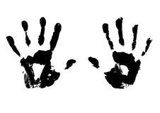 Hand prints Stock Image