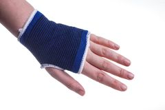Hand protection Royalty Free Stock Photos
