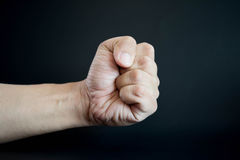 Hand punch Stock Photos