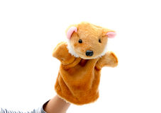 Hand puppet Stock Photography