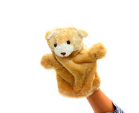 Hand puppet Royalty Free Stock Images