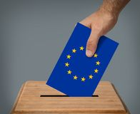 European Union ellections concept. stock photos