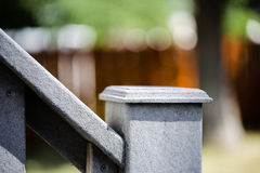 Hand rail Stock Photo