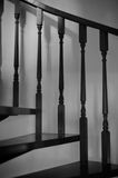 Hand Railing and Stairs Royalty Free Stock Photography