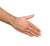 Hand Ready For Handshaking Stock Photo