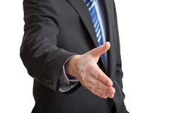 Hand ready to handshake Royalty Free Stock Photo