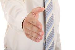 Hand ready to seal a deal Stock Photos
