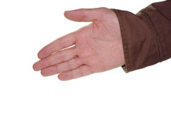 Hand ready to shake and make a deal Royalty Free Stock Photos