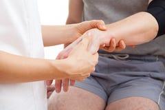 Hand rehabilitation Royalty Free Stock Image