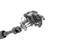Hand of robot Stock Photography
