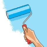 Hand Roller Brush Royalty Free Stock Photo