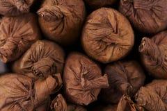 Hand rollte Zigarren Lizenzfreie Stockfotos