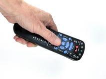 hand - rymd remote Fotografering för Bildbyråer