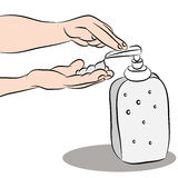 Hand Sanitizer Stock Images