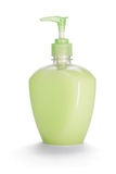 Hand sanitizer with dispenser Royalty Free Stock Images