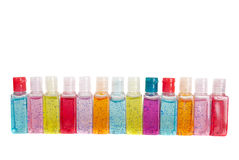 Hand sanitizer set Stock Images