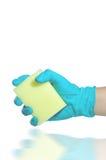 Hand sauber Lizenzfreie Stockbilder