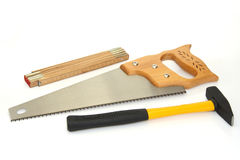 Hand saw Royalty Free Stock Photos