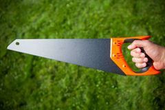 Hand saw Stock Photos
