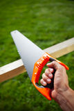 Hand saw Royalty Free Stock Photography