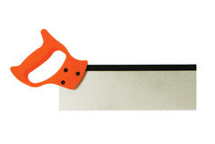 Hand saw isolated on the white Royalty Free Stock Image
