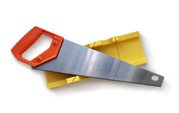 Hand Saw and Mitre Saw Royalty Free Stock Photo