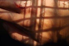 Hand-Schatten lizenzfreies stockbild