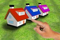 Hand Select House Stock Photos