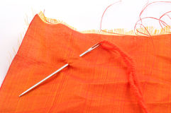 Hand sewing Stock Photography