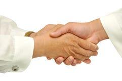 Hand shake Royalty Free Stock Photography