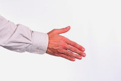 Hand shake Stock Photography