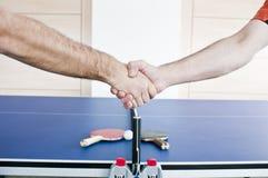 Hand shake Stock Photo