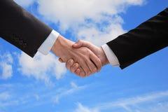 Hand shake. Stock Image