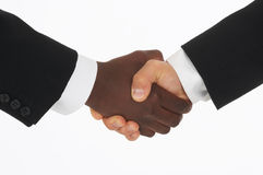 Hand-shake Royalty Free Stock Photo