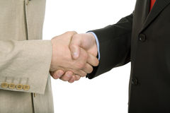 Hand shake. Business team hand shake at the office Royalty Free Stock Images