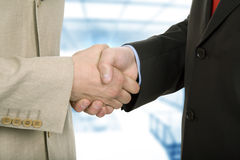 Hand shake Royalty Free Stock Photo
