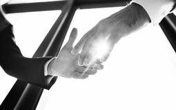 Hand Shake Business Partner Concept. Hand Shake Business Partner Agreement Stock Images