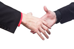 Hand Shake Businessmans Royalty Free Stock Photos