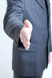 Hand shake gesture Royalty Free Stock Photos
