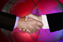 ENVIRONMENT HANDSHAKE GLOBAL TECHNOLOGY BUSINESS INDUSTRY Royalty Free Stock Photo