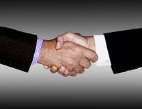 HANDSHAKE TECHNOLOGY BUSINESS INDUSTRY Stock Photos