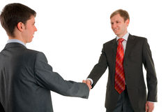 Hand shake of two businessmen Royalty Free Stock Image